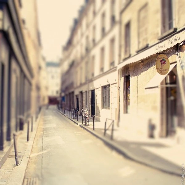 Street in Paris,  Fine Art Photograph