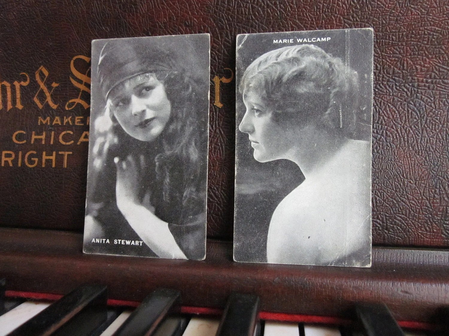 Silent Movie Actress Cards