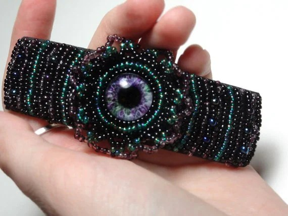Beaded Barrette - $19.95