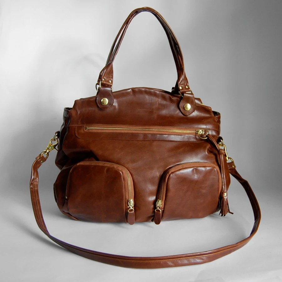 Shikotsu bag in saddle brown