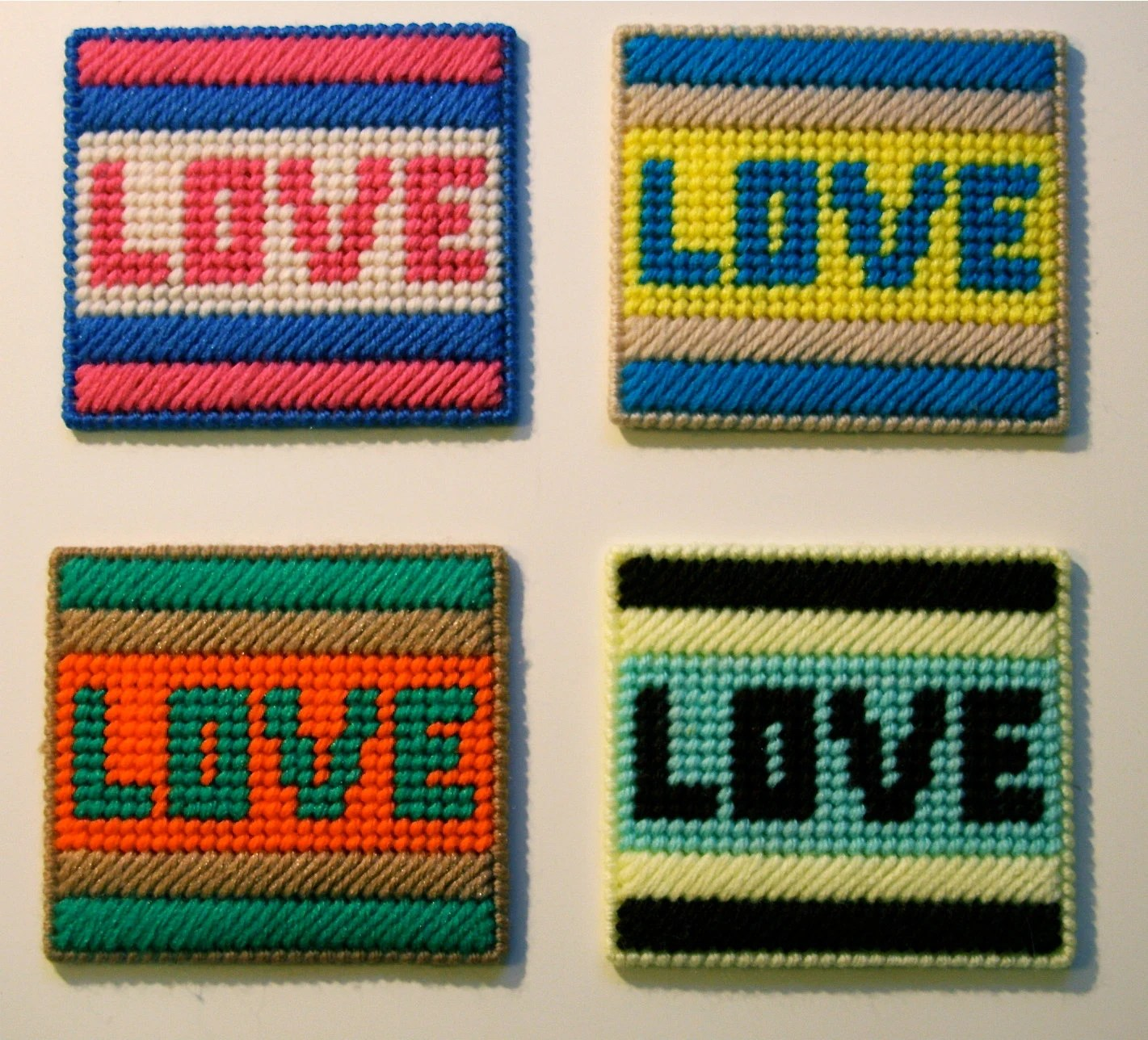 Coaster Set - LOVE Coasters
