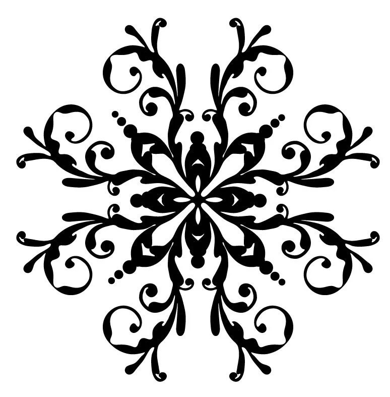 Fabric On Cameo Silhouette Pen Coloring Pages