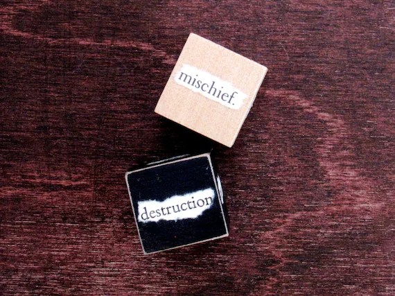 Comedy/Tragedy Writer Dice - Shakespearean Stocking Stuffer Gift for Writers - Set 2