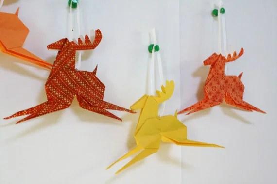 origami reindeer instructions