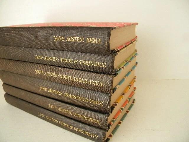 vintage Jane Austin novels
