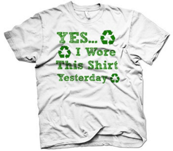 Youth Yes I Wore This Shirt Yesterday t shirt funny shirt printed on our soft tees size S-3XL