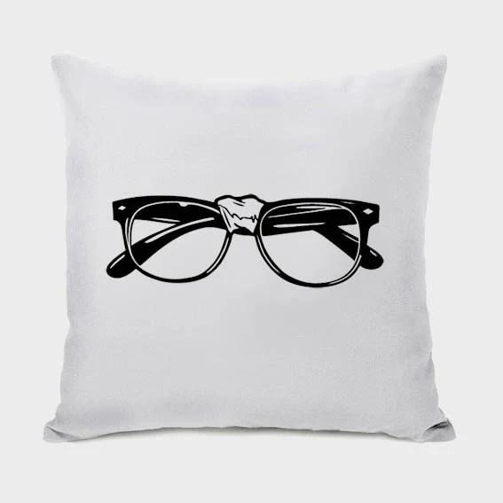 Nerd Glasses Pillow