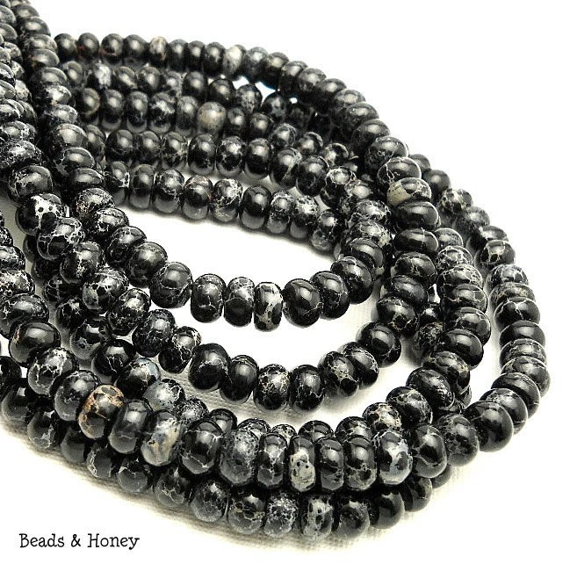 Black Impression Stone