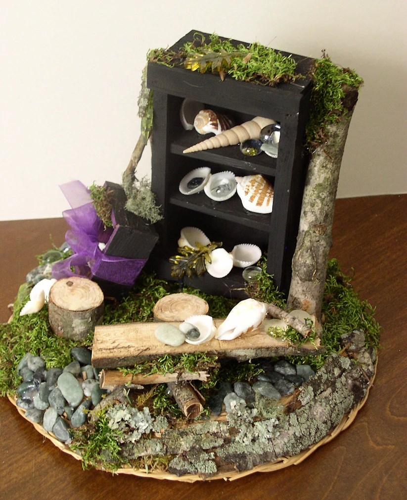Woodland Fairy House for Mystical Faeries