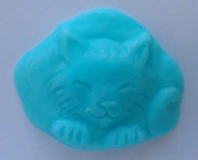 5 Itty Bitty Kitty Soaps