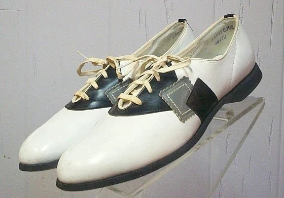 Cool late 1950s Atomic Saddle Shoes