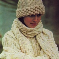 HAT SCARF KNITTING PATTERNS  Free Patterns