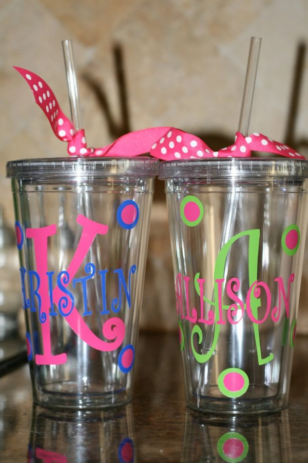 Personalized Tumbler Cup Ideas