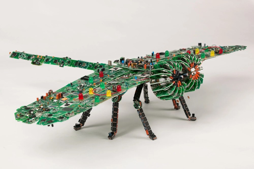 medium resolution of giant circuit board dragonfly be glad this thing doesn t fly 1974 vw thing wiring harness