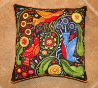 Del's Shells: Beaded Pillows