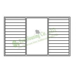 aluminum safety louveres window, aluminum safety louveres
