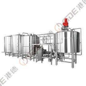 7 BBL Micro Brewing Equipment , Mash Lauter Tun + Kettle