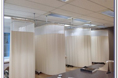 hospital cubicle curtain track by