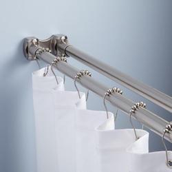 aman decor decorative double curtain rod