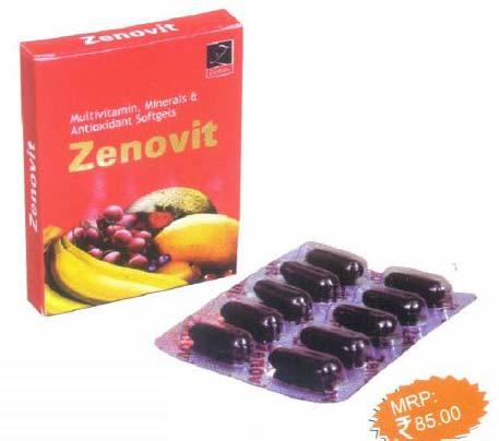 Zenlabs India  Zenovit Softgel Capsules Manufacturer