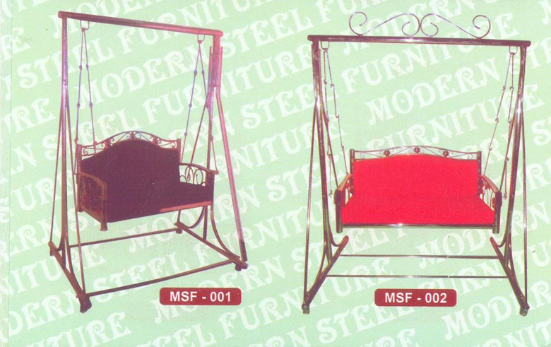 steel chair jhula slip cover for and ottoman manufacturer from india id 318323 msf 3