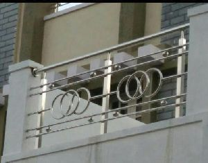 Stainless Steel Balcony Railing By Solar And Glass Tech Stainless Steel Balcony Railing Id 5300225