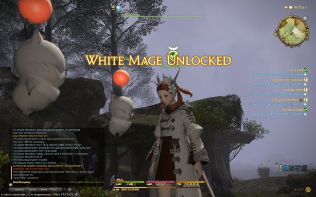 White mage Unlocked