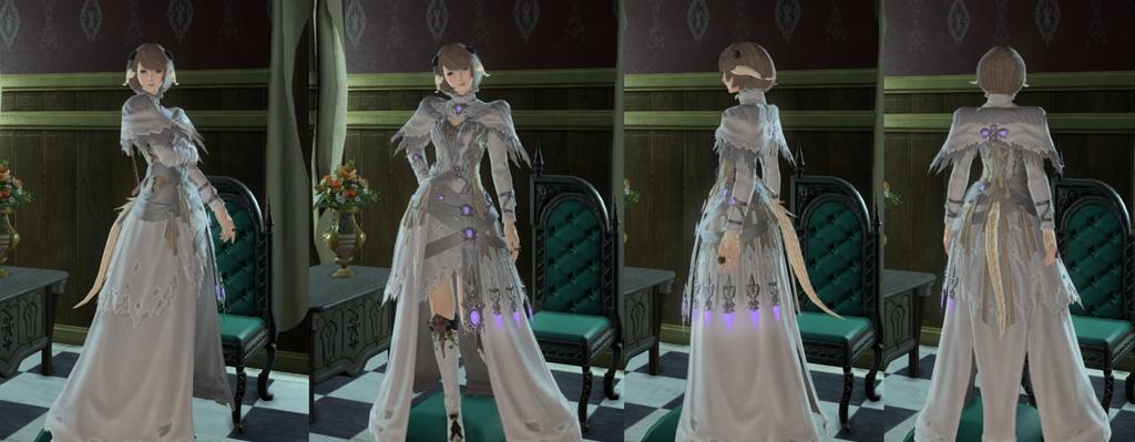 Eorzea Database Void Ark Robe Of Healing FINAL FANTASY XIV The Lodestone