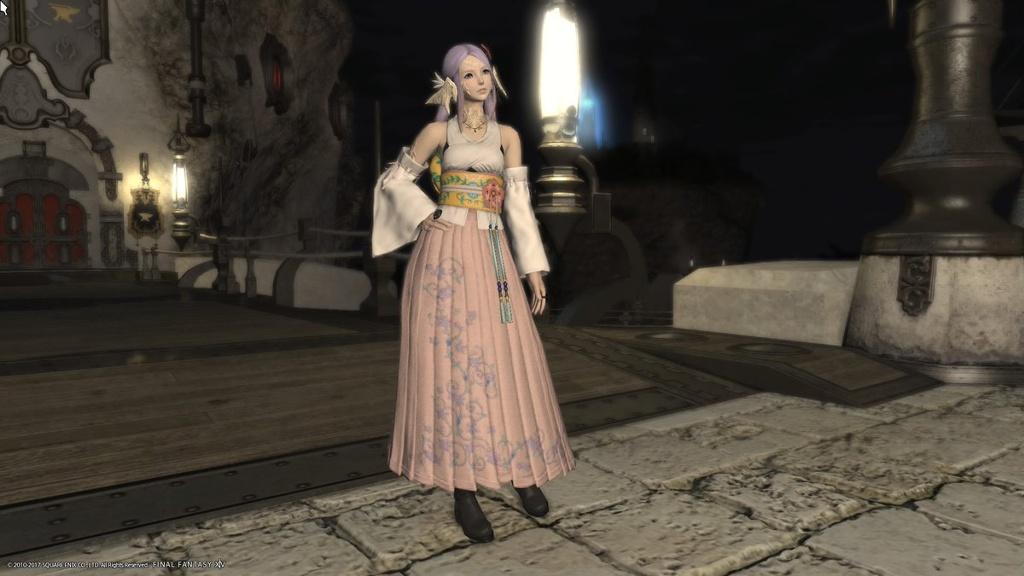 Eorzea Database High Summoners Dress FINAL FANTASY XIV The Lodestone