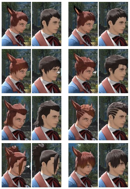 Miqo Te Hairstyles : hairstyles, FINAL, FANTASY, Forum
