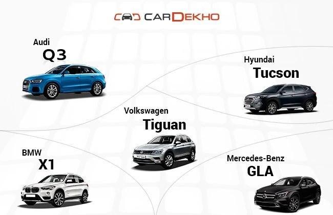 Volkswagen Tiguan Vs Hyundai Tucson Vs Audi Q3 Vs BMW X1