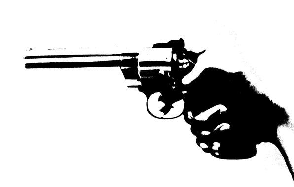 Wallpaper style, gun, background, hand images for desktop