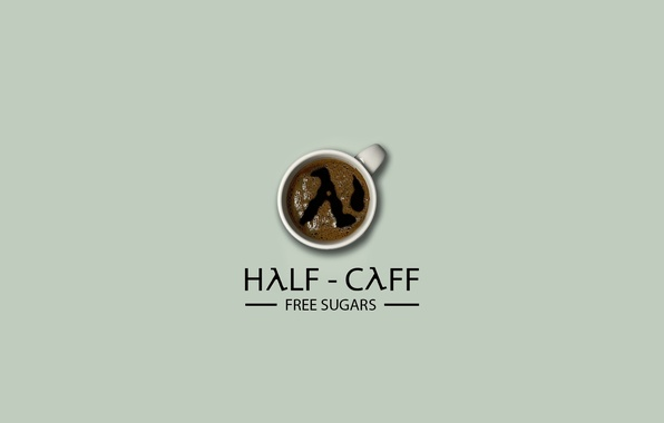Wallpaper coffee, Cup, Half-Life, lambda, cup, coffee