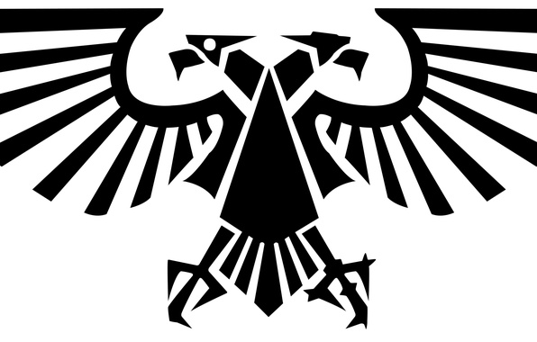 Wallpaper Warhammer 40000, two-headed eagle, imperial