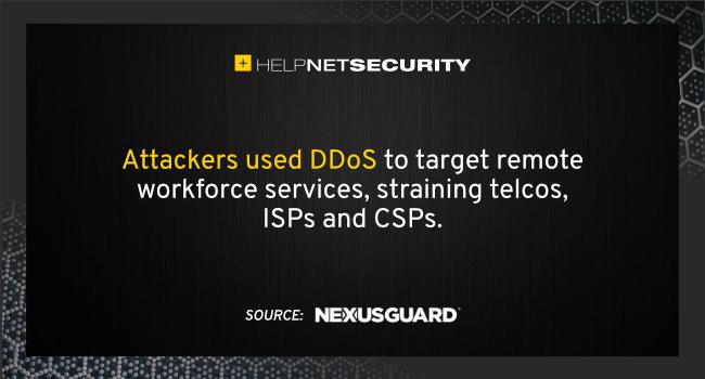 DDoS attacks increase
