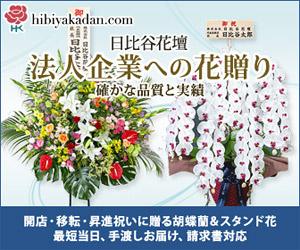 日比谷花壇_胡蝶蘭_法人企業への花贈り