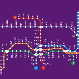 羅湖地鐵路線圖-HopeTrip專業旅遊網