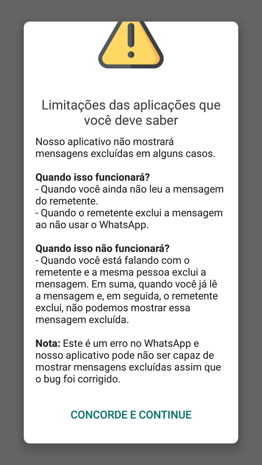 2 18105552178050 - Como recuperar as mensagens de WhatsApp que foram apagadas por quem enviou