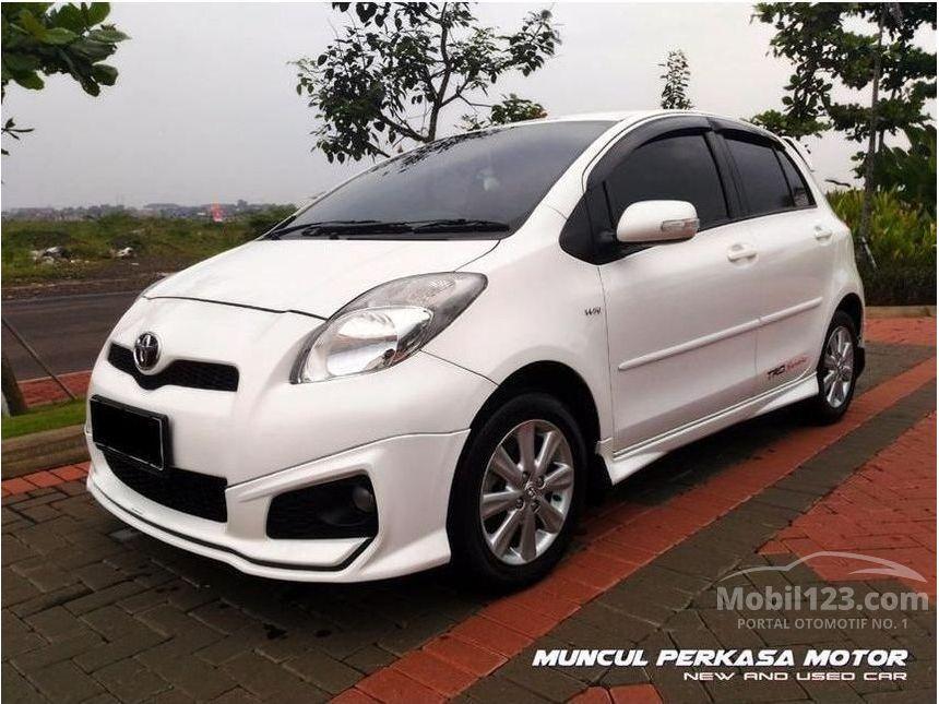 toyota yaris trd limited harga grand new veloz 1.5 a/t jual mobil 2013 sportivo 1 5 di banten automatic hatchback
