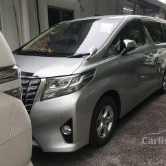 All New Alphard 2.5 X Cicilan Grand Avanza Toyota 2015 G S 2 5 In Kuala Lumpur Automatic Mpv Silver For