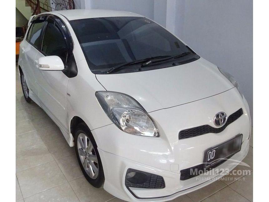 new yaris trd sportivo manual spoiler grand avanza jual mobil toyota 2013 1 5 di sulawesi selatan hatchback