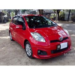 Toyota Yaris Trd Warna Merah Interior Grand New Avanza Veloz 2017 Jual Mobil 2013 Sportivo 1 5 Di Riau Manual Hatchback