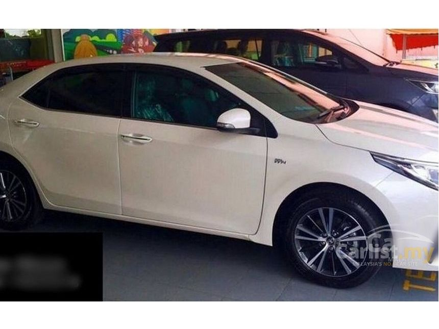 all new toyota altis 2018 kijang innova 2.4 v a/t diesel lux corolla g 1 8 in johor automatic sedan others for