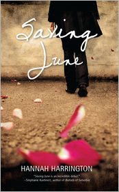 Saving June by Hannah Harrington: Book Cover