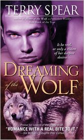 Dreaming of the?Wolf by Terry Spear: NOOK Book Cover