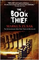 The Book Thief by Markus Zusak: Book Cover