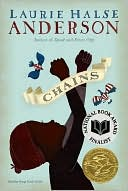 Chains by Laurie Halse Anderson: Book Cover