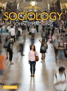 book cover for Sociology