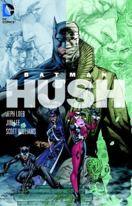 book cover for Batman: Hush