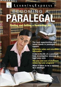 book cover for Becoming a Paralegal